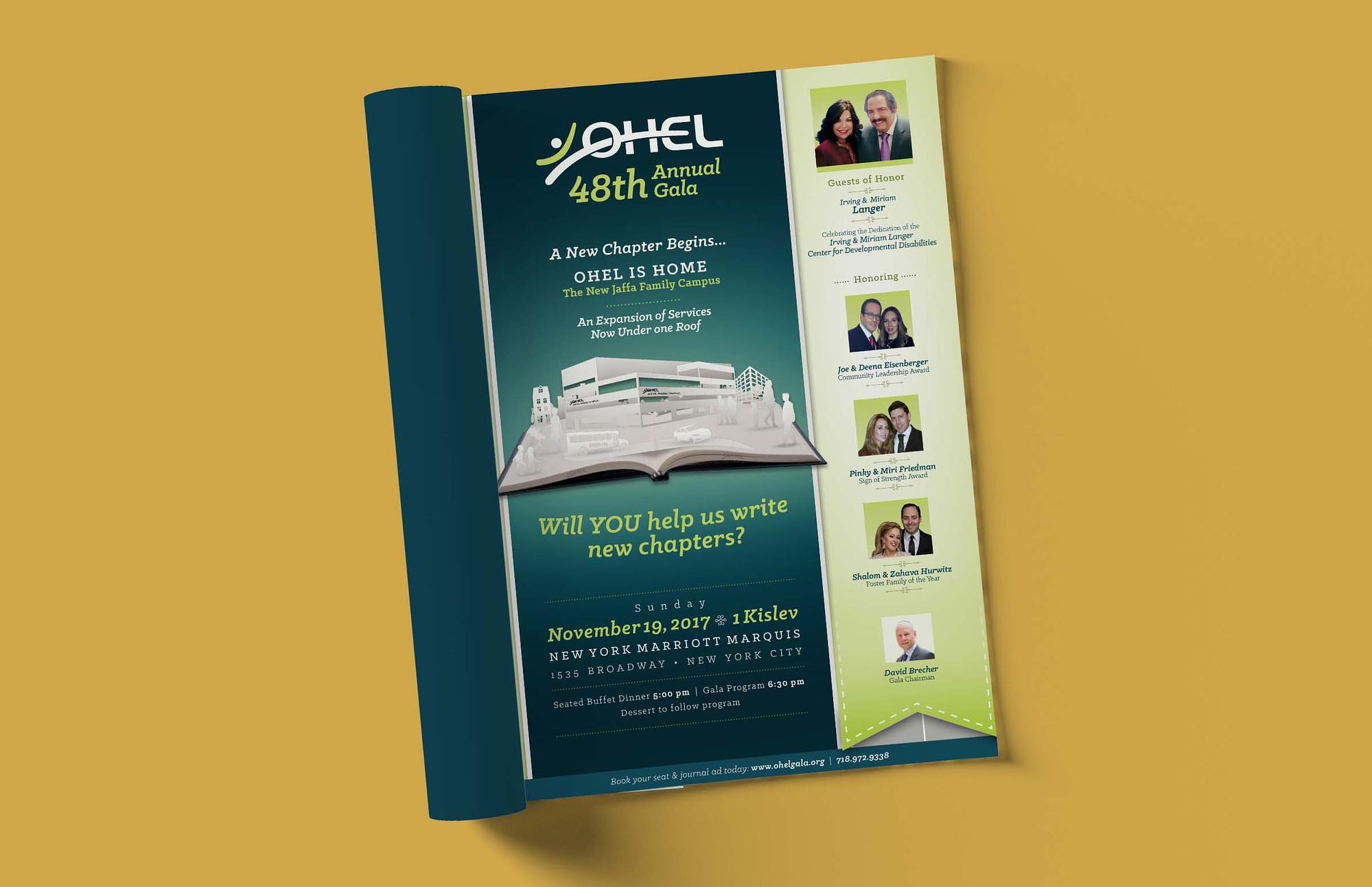 OHEL Gala ad